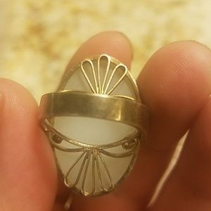 Awesome vintage ring size 7.  PM 519